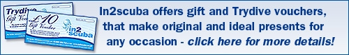 In2scuba Try dive & gift vouchers for any occassion!